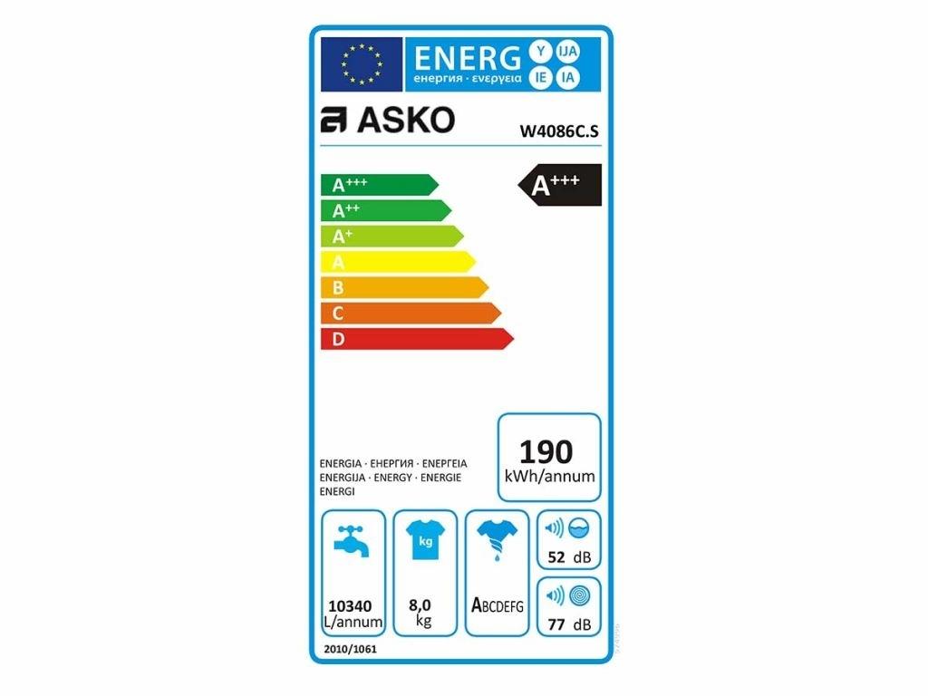 Asko W4086C.W Wasmachine