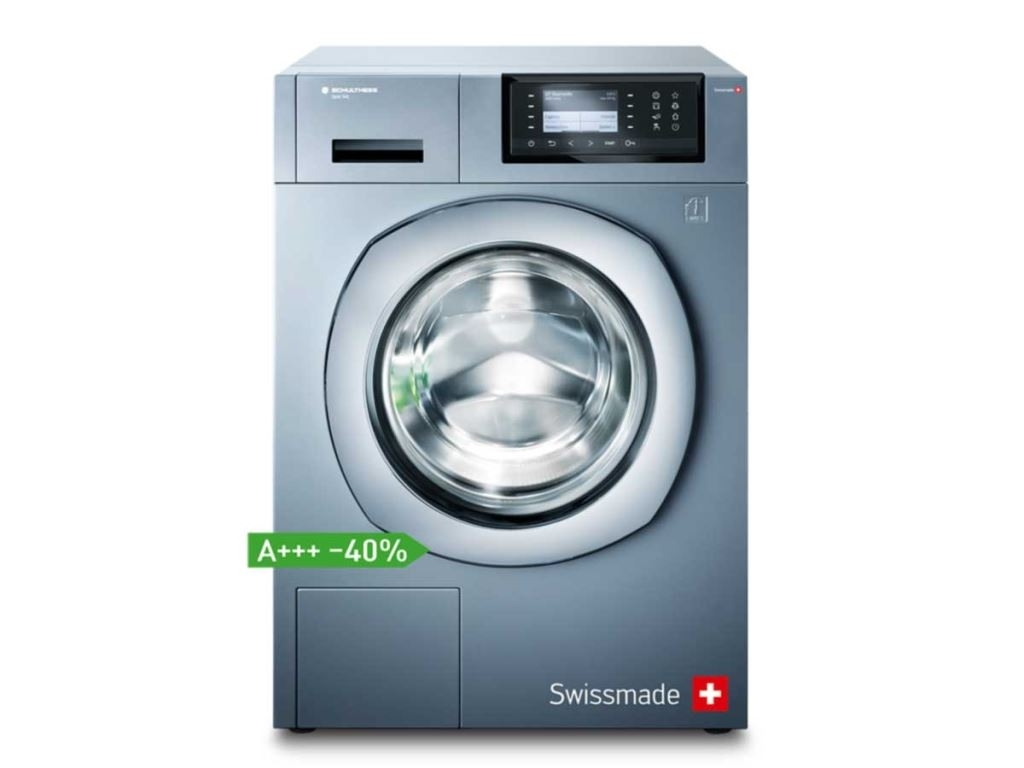 SCHULtHESS Spirit 540 Top-Plus Anthrazit Wasmachine