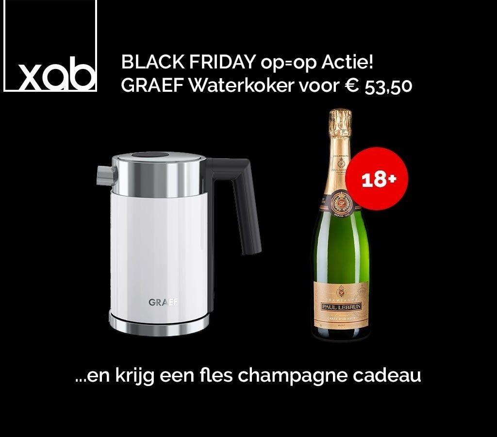 GRAEF WK401 BLANC AVEC CHAMPAGNE Waterkoker