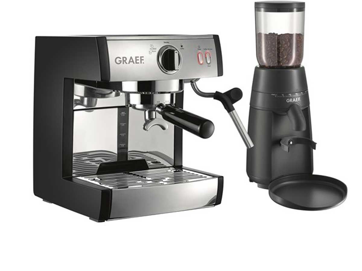 GRAEF ES702 SET Koffiemachine