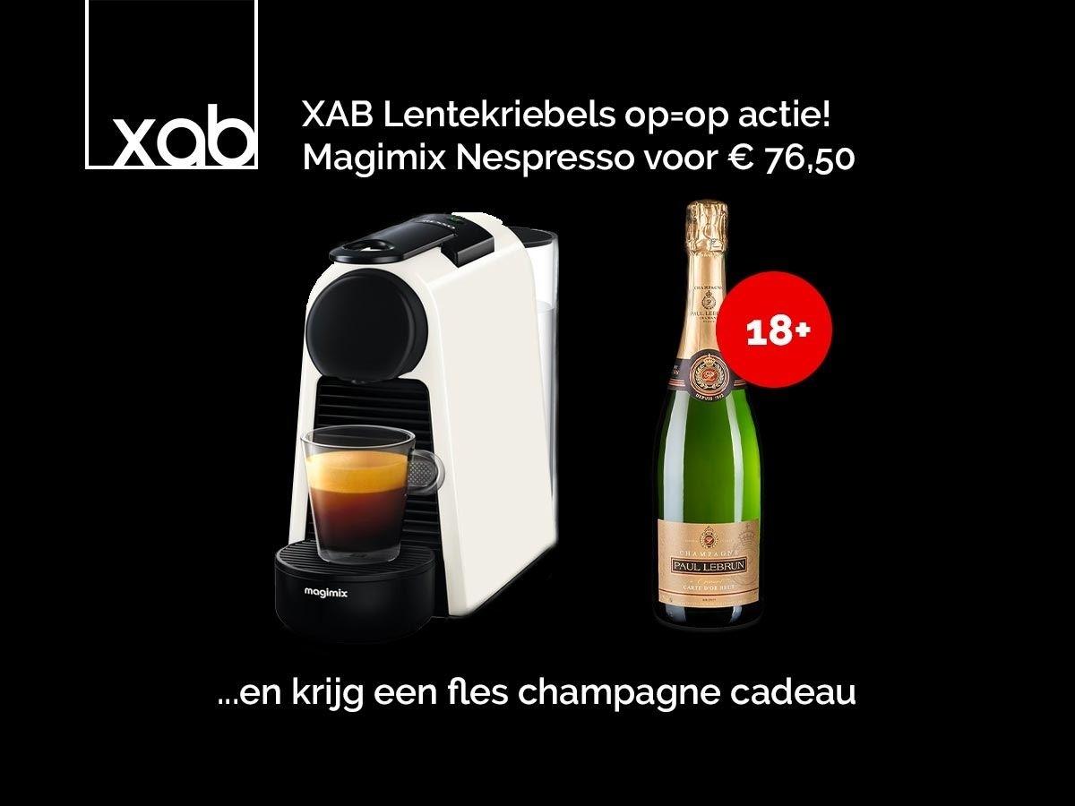 Magimix ESSENZA BLANC AVEC CHAMPAGNE Espresso Machine
