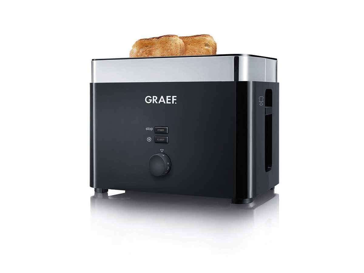 Graef Broodrooster TO62, zwart