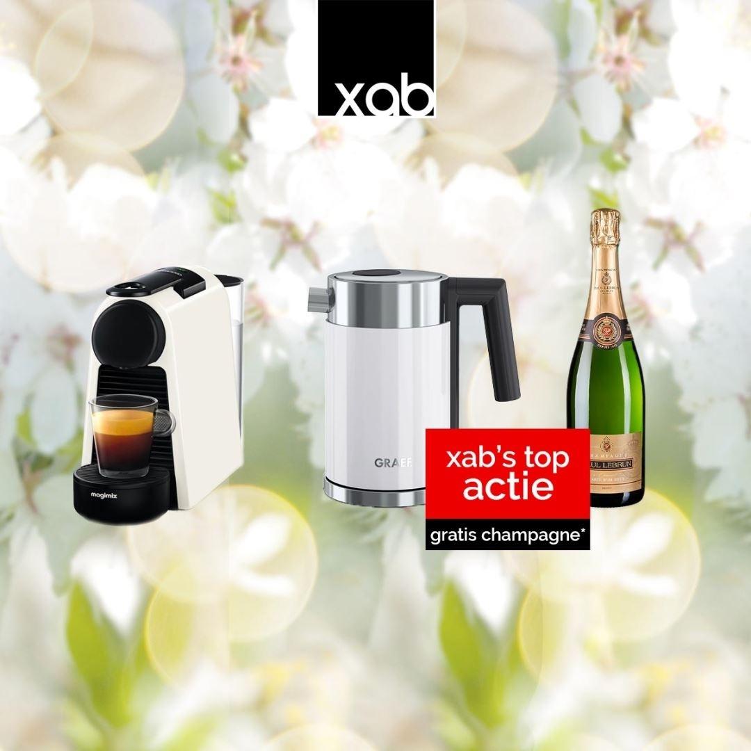 GRAEF WK401 + ESSENZA BLANC AVEC CHAMPAGNE Koffiemachine